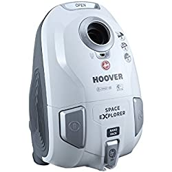 Hoover sl71_ SL10Aspirateur traîneau Space Explorer, 700watts, pur/blanc