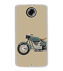Fiobs Designer Back Case Cover for Motorola Nexus 6 :: Motorola Nexus X :: Motorola Moto X Pro :: Google Nexus 6 (Bike Motorcycle Cool Vehicle Swag Boy )