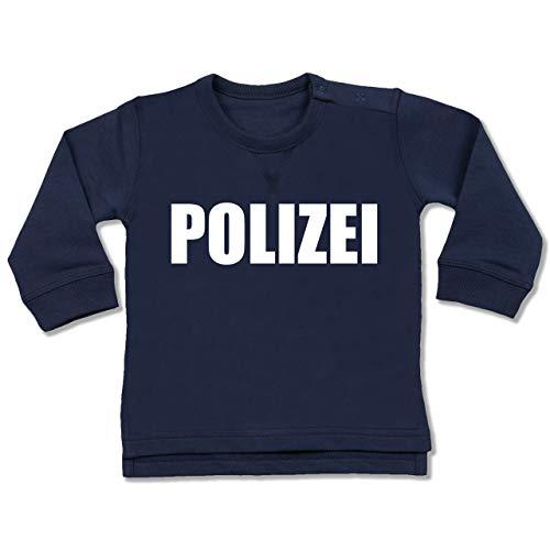 Shirtracer Karneval und Fasching Baby - Polizei Karneval Kostüm - 18-24 Monate - Navy Blau - BZ31 - Baby Pullover