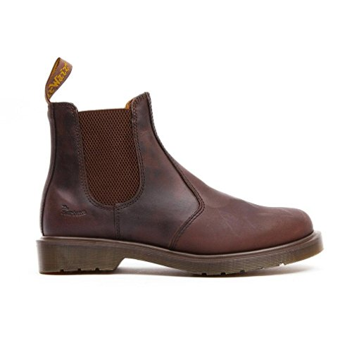 Dr. Martens Mens 2976 In Pelle Pull On Chelsea Boot Crazy Horse Gaucho Braun (gaucho)