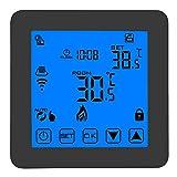 Termostato WiFi, Controlador De Diferencia De Temperatura LCD Digital Inteligente Programable con Control De Temperatura De Calefacción Y Refrigeración
