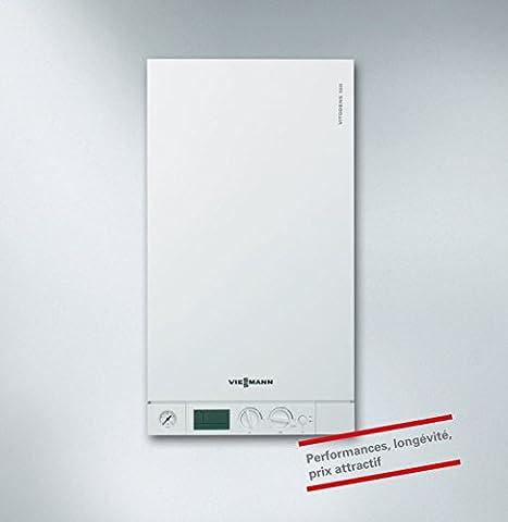 Chaudière murale gaz à condensation ECS Mira C Green Evo 25 FR BE EU Classe énergétique A/A Réf. 3310418