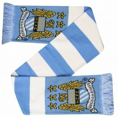 Man City Crest Bar schal -