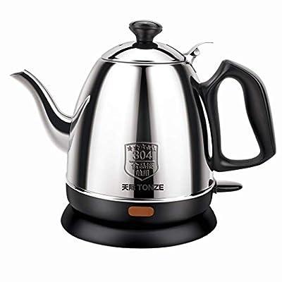 Électrique en acier inoxydable bouilloire électrique automatique Décanter ménages Teapot Type de Kettle 1L