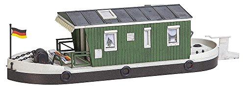 Preisvergleich Produktbild FALLER FA 161460 - Hausboot, Zubehör für die Modelleisenbahn, Modellbau