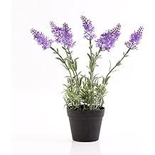 Lavendel Dekoration Hausdeko Blumen 80 cm hoch