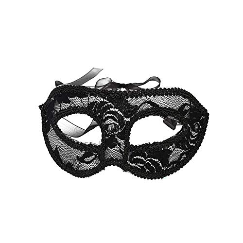 Leaftree Halloween Masquerade Eye Mask Lace PVC Carnival Make Up Party Mask (Halloween Eye Mask Make-up)