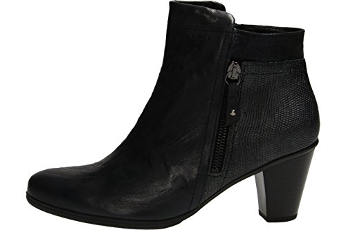 Gabor Heeled Ankle Boot Monitor 55.610 Navy