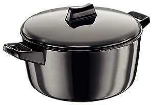 Hawkins Futura Hard Anodised Cook-n-Serve Bowl, 4 Litres, Black