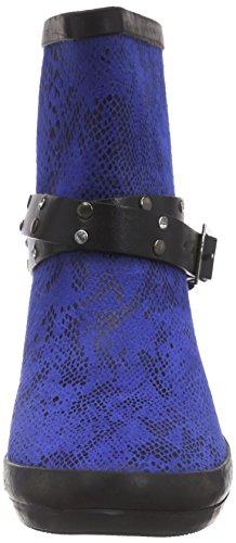 Wolpertinger Perth, Bottes en caoutchouc avec doublure intérieure femme Bleu - Bleu