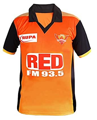 Roots4creation Sunrisers Hyderabad Ipl T-Shirt for Men and Women(XXL: Size)
