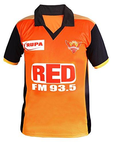 Roots4creation Unisex Polyester IPL T-Shirt (Orange_Large)