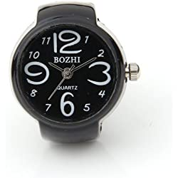 "FACILLA® Arabic Number Quartz Men Pocket Finger Ring Watch 0.87"" HOT"