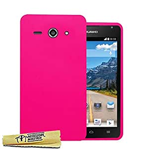 Accessory Master Coque en silicone gel pour Huawei Ascend Y530 Rose