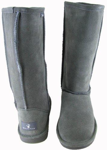 Bearpaw Emma Tall Ankle, Bottes femmes Gris
