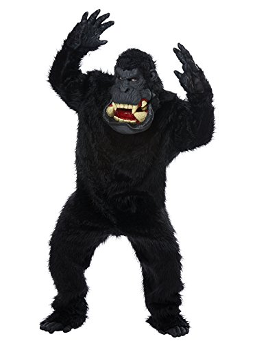 (Goin' Bananas! Gorilla Adult Fancy dress costume Standard)