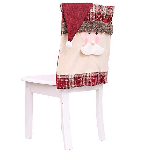 2019 Housse De Chaise Decoration NoelDecor Stretch Couverture