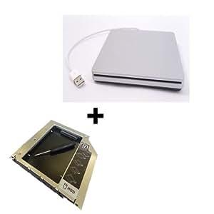 Bipra Second - coque pour SSD/HDD avec USB pour Apple MacBook Pro