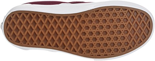 Vans Unisex Adults' Classic Slip On Trainers, Red (Mono Canvas) Cabernet Qdd, 11 Uk 46 Eu
