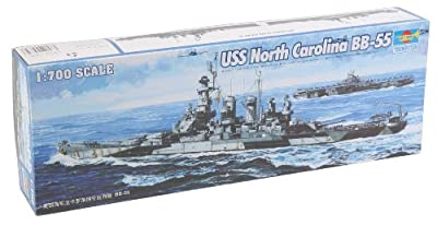 Trumpeter 1:700 - USS North Carolina BB-55