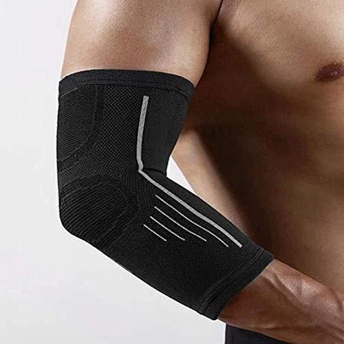 Ellenbogen Unterstützung Klammer Tennis Strap Compression Sleeves Sleeve Arm Tendonitis Arthritis Bursitis Golfers Gewichtheben Sport Prävention & Recovery (Color : XLarge)