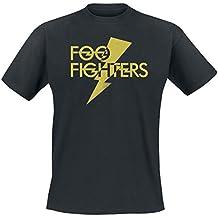 Foo Fighters Thunderbolt Logo T-Shirt schwarz
