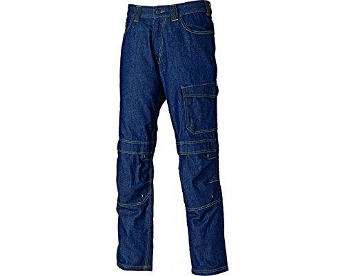 Preisvergleich Produktbild Dickies Stanmore Berufshose Jeans, 1 Stück, 42, marineblau, DT1007