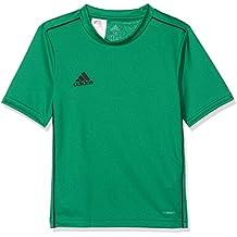 adidas CORE18 JSY Y Camiseta de Equipación, Unisex niños, Verde (Bold Green)