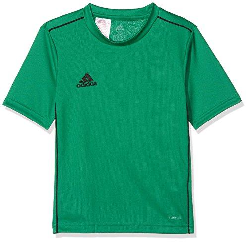 adidas Kinder CORE18 Y Jersey, Grün (bold green/schwarz), 152 -