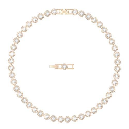 Swarovski Damen Halskette aus Choker Vergoldet - 5367845