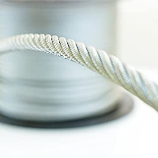 5 m stainless steel wire rope cable 2 mm cordage Strand: 7x7
