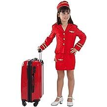 Disfraz azafata de vuelo niña - Único, 11 a 13 años