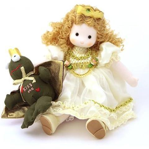 La Rana Príncipe Musical muñeca