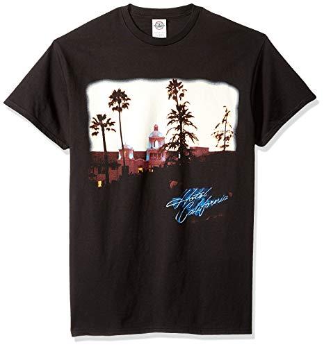FEA Herren T-Shirt Eagles Hotel California Short Sleeve - Schwarz - Groß -