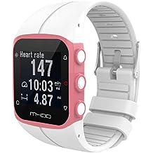 Polar M400 Armband, SHOBDW Weicher Silikon-Gummi-Uhrenarmband-Handgelenk-Bügel für Polar M400 M430 Fitnessuhr