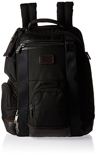 Tumi Alpha Bravo Shaw Deluxe Brief Pack, Hickory, 0222389HK2 (Alpha-rucksack)