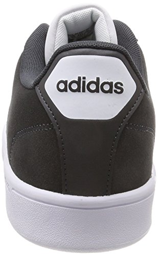 adidas Herren Cloudfoam Advantage Clean Gymnastikschuhe Grau (Carbon S18/carbon S18/ftwr White)