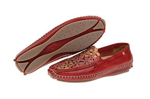 Pikolinos Damenschuhe - bequeme Slipper JEREZ Rot