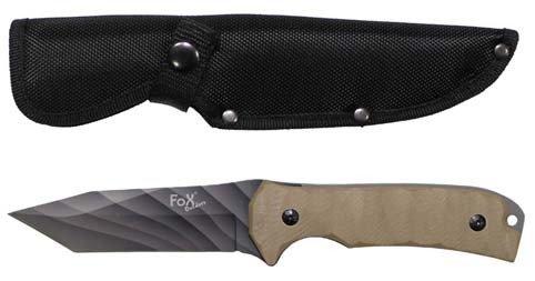 Messer, Kojote I, G10-Griff, Klinge tarn