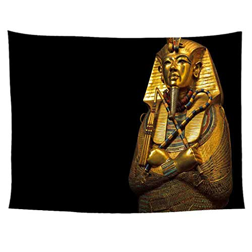 Xmiral Tapisserie Wandbild Uralt Ägypten Stil Hängen Tapestries Wandbehang Gobelin 150X200cm(AN)