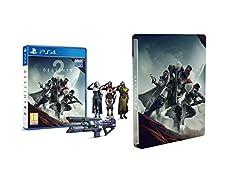 "Destiny 2 + Emote ""Saluto Militare"" (Esclusiva Amazon) + Steelbook - Playstation 4"
