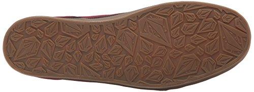 Volcom - Lo Fi Shoe, Scarpe da Skateboard Uomo Rosso (Rot (Burgundy BUR))