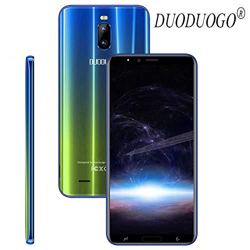DUODUOGO J6 Plus, Móviles Libres 4G (Pantalla 6.0' 18:9 HD Dual Sim 4800mAh 2GB RAM + 16GB ROM Cámara 8MP Face Unlock...
