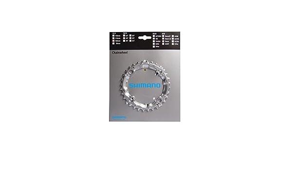 Shimano Fahrrad Kettenblatt 32 Z.Stahl silb LK4x104