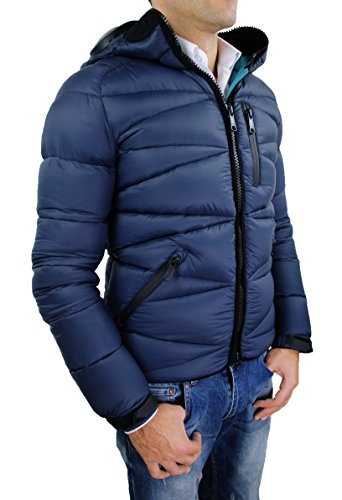 Riders on the Storm - Manteau - Homme Bleu Marine