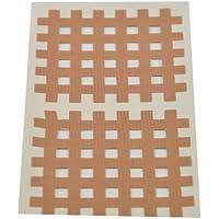 Kinesiologie Gittertape 5,2 cm x 4,4 cm 20 Bögen in Beige, Cross Patches, Cross Tape preisvergleich bei billige-tabletten.eu