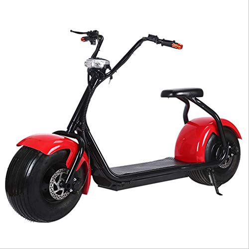 OOBY Q1 Harley Electric Scooter Motocicleta para Adultos Elegir-20A,Red
