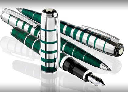 MontBlanc George Bernard Shaw Limited Edition Set (Kugelschreiber, Füllfederhalter, Bleistift)-Schriftsteller Serie 2008