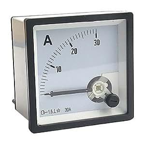 Cc 0-30a analogique ampèremètre courant (shunt panneau ampèremètre)
