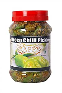 AFP Green Chilli Pickle - 200g + 200g
